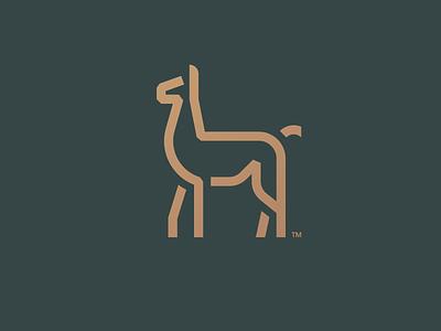 Chulengo   Logo Mark minimal flat llama alpaca photoshop ui ux illustration vector branding brand mark lockup combination mark logo mark logo design logo design