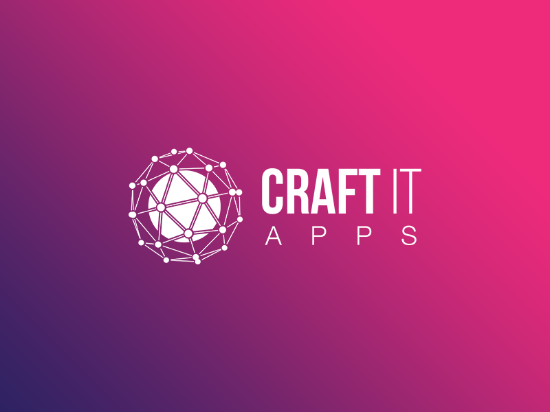 Craft It Apps Logo By Synezis Dribbble Dribbble