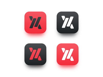 Interplanetary travel iOS app icons interface ux ui application travel logo material minimal flat app icon ios