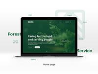 🌲 Forest Service | Website 🌲