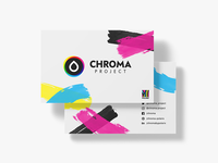 🎨 CHROMA Project | Business Card 🎨