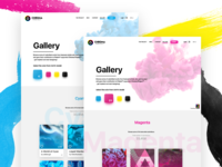 🎨 CHROMA Project | Web Gallery 🎨
