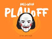Jigsaw - Halloween Vinny costume @StickerMule