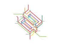 Neopix logo - Subway Map