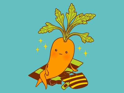 Carrot On Vacation