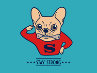 Stay strong with Super Frenchie