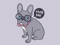 Hug me, cute Lilac Frenchie needs a hug