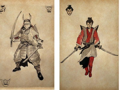 warriors vector branding paint concept design drawing sketch ilustration
