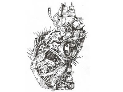 HEART sketch mechanical