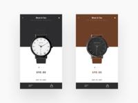Shop UI Design Concept