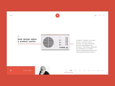 10 Principles of Good Design 2 web webdesign design minimal minimalism clean simple microsite ui ux interface experience