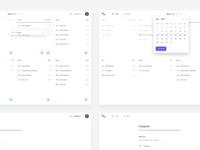 Flow App - UI design 1/3