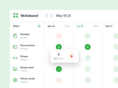Skillsboard UI