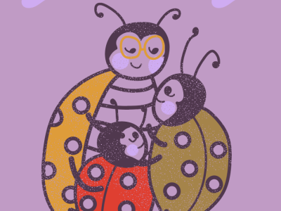 Snugglebugs children book illustration illustration