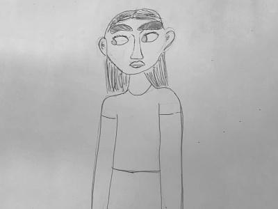 Through my niece's eyes 🥰 kid drawing design character render 3d illustration blender
