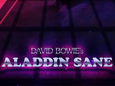David Bowie's Aladdin Sange