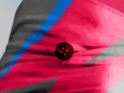 Blackstar (From Mars) didot color vector poster legend rock star ziggy stardust thin white duke david bowie blackstar