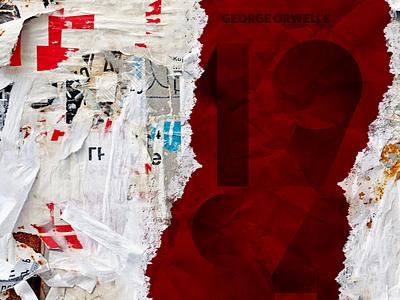 Numbers — 1984 numbers shadow geometric red george orwell 1984