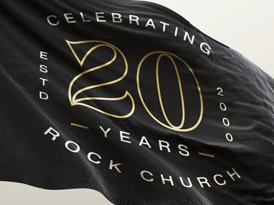 20 Year Anniversary Logo Badge