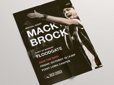 Mack Brock Poster