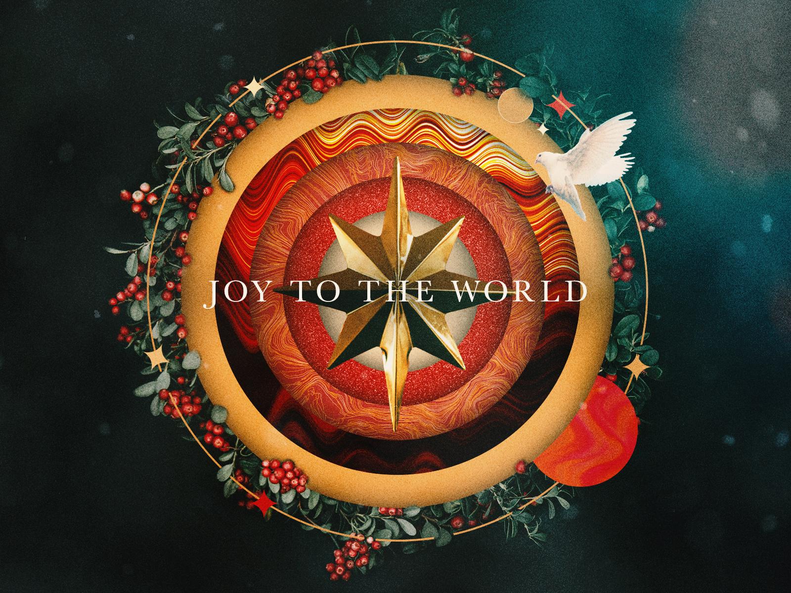 Joy To The World By Michael Khamo Design On Dribbble