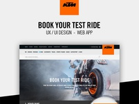 Book a test ride | Client: KTM