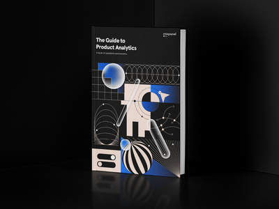 The Guide to Product Analytics eBook chapters data analytics website ebook design web brand illustration