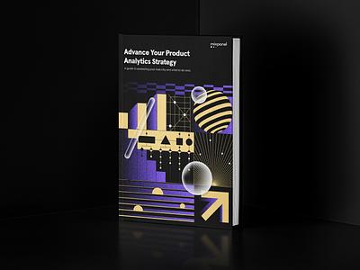 Advance Your Product Analytics Strategy eBook branding logo website ui design web illustration icon brand