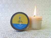 Bicyclette.com Candle Label - Sunshine Bliss
