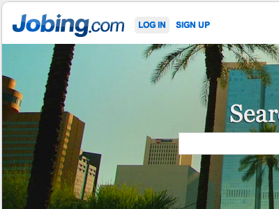 Jobing.com Redesign