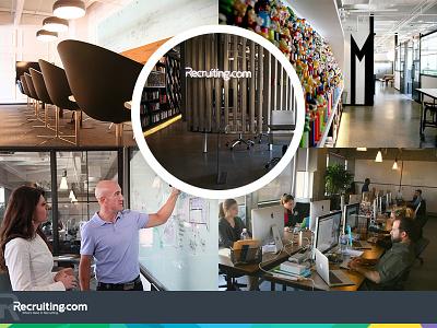 Recruiting.com Headquarters office design workspaces