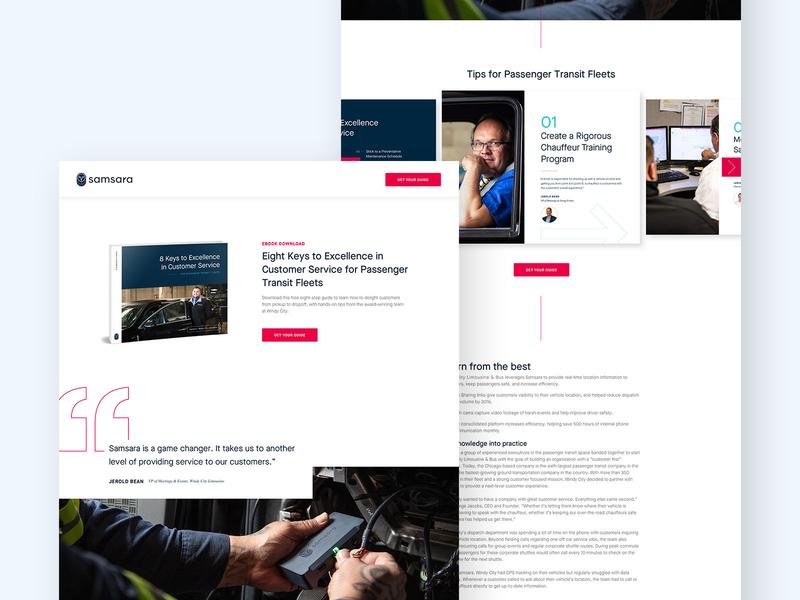 Ebook Landing Page download ebook website web design web ux ui typography site marketing layout landing page design clean brand
