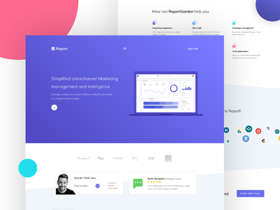 Agency Home/landing page app website homepage landing product branding agency creative nandu typography ui ux