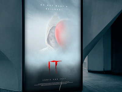 Manipulation, Treatment | IT Film poster