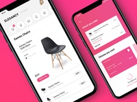 App E-commerce | Elegancy | chair | Payment | Filter category
