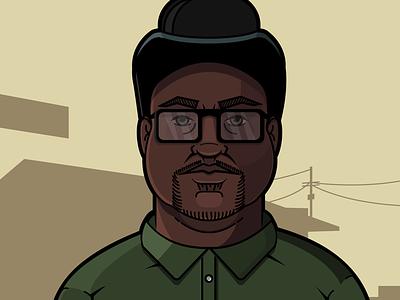GTA San Andreas - Big Smoke gta game fanart hero illustrator art vector character design illustration