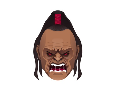 Mortal Kombat - Goro game mortalkombat fight 2d art 2d character 2d face hero illustrator art vector character design illustration