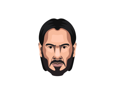 John Wick art hero illustrator vector character design illustration
