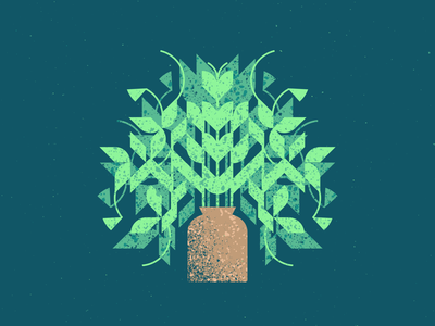 Plant texture plant illustration