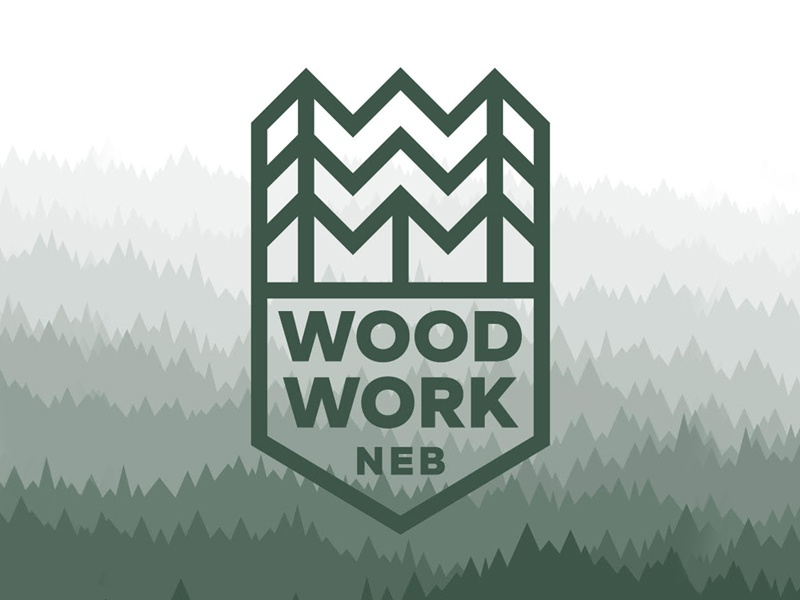 Woodwork Ultimate frisbee logo ultimate
