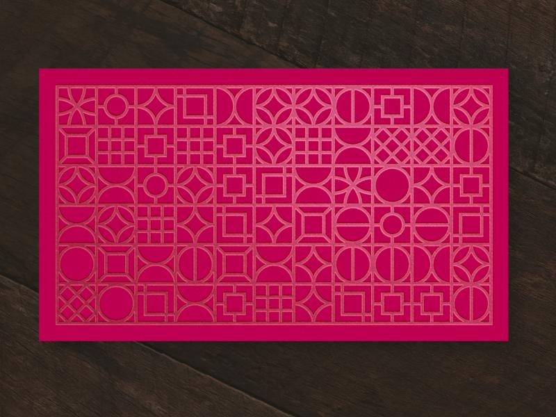 Letterpress Pattern busines card letterpress pattern