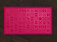 Letterpress Pattern