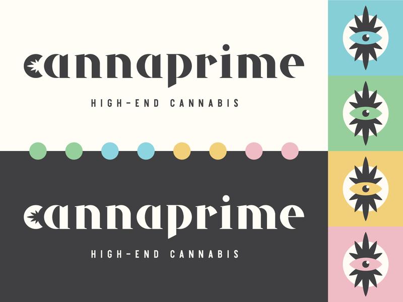 Cannabis Identity typography cannabis identity