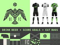 Drink Beer + Score Goals + Eat Bugs