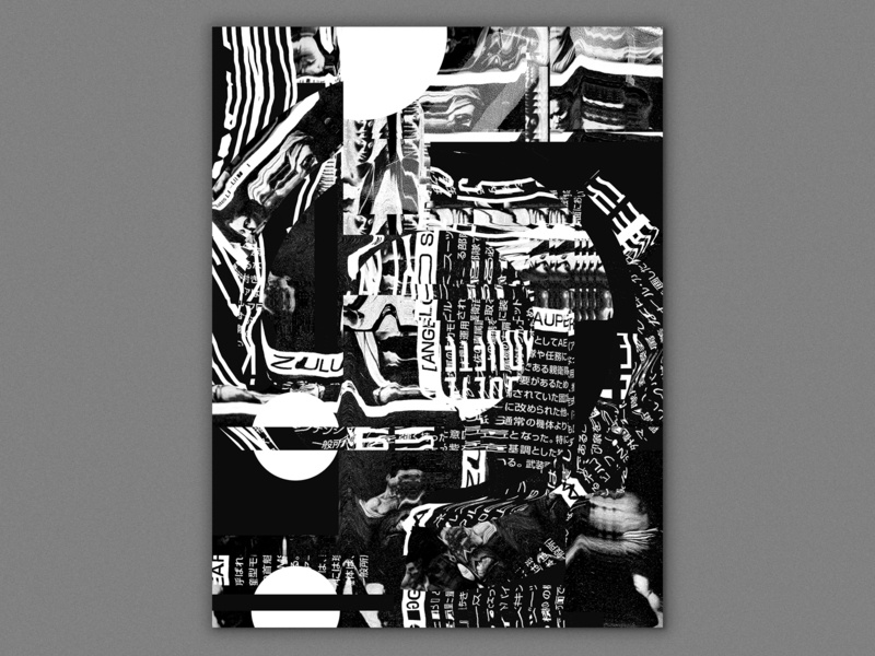 FTRSIK III typography poster