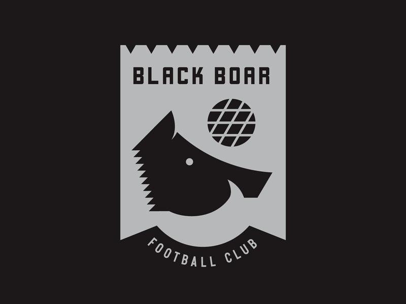 BBFC boar branding crest soccer
