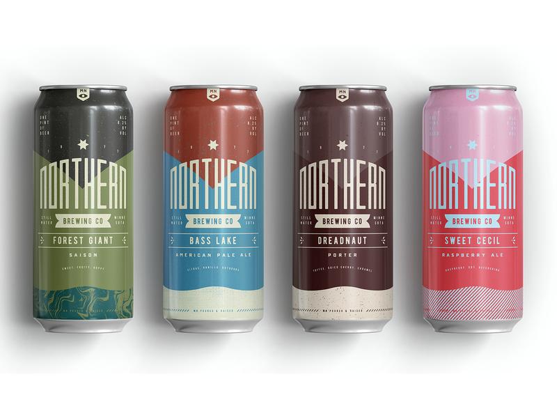 Northern Brewing 3 branding packaging beer