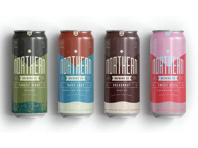 Northern Brewing 3 branding packaging beer