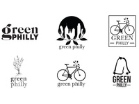 Green Philly Logo Explorations