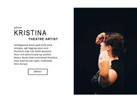 Website Element Exploration: KristinaFriedgen.com